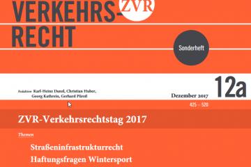 ZVR - Verkehrsrecht