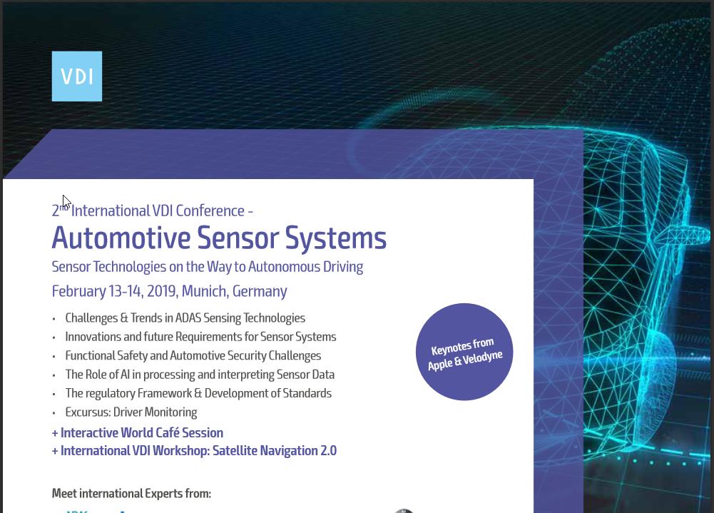 2nd International VDI Conference