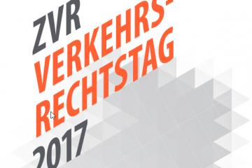ZVR Verkehrsrechtstag 2017