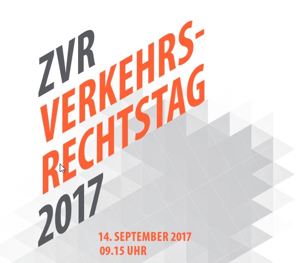 ZVR Verkehrsrechtstsg 2017