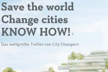 Save the world Change cities KNOW HOW!