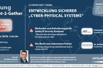 """Entwicklung sicherer """"Cyber-Physical Systems"""""""